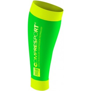 Jambiere Compressport R2 (Race&Recovery) Fluo Verzi