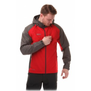 Geaca Nordblanc Zipper 2 In 1 Membrane Light Softshell M Rosu