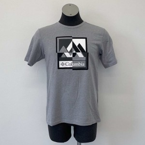 Tricou Drumetie Barbati Columbia M Alpine Way Graphic Tee Gri