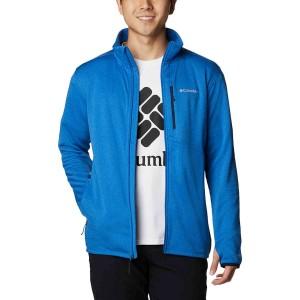 Bluza Drumetie Barbati Columbia Park View Fleece Full Zip Albastru