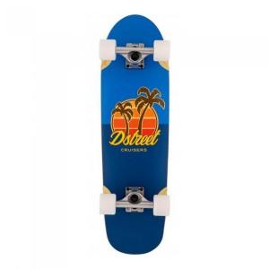 Cruiser D street Palm 29.5x8.38 inch Albastru