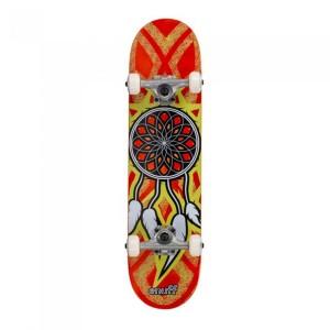 Skateboard Enuff Dreamcatcher/Yellow 31x7.75 inch Multicolor