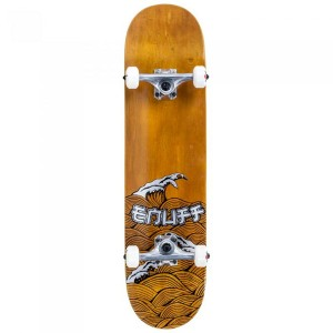 Skateboard Enuff Big Wave Brown/Silver 32x8 inch Maro