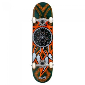 Skateboard Enuff Dreamcatcher Teal/Orange 31x7.75 inch Multicolor