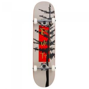 Skateboard Enuff Evergreen Tree Warm Grey/Red 32x8 inch Gri