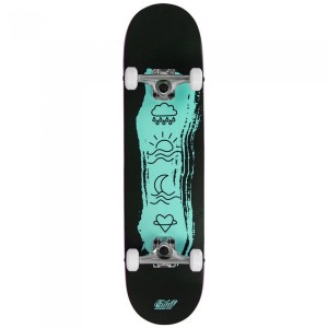 Skateboard Copii Enuff Icon Mini 29.5x7.25 inch Turcoaz