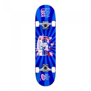 Skateboard Copii Enuff Lucha Libre Mini/Blue 29.5x7.25 inch Albastru