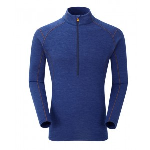 Bluza First-Layer Montane Primino Zip 220g M Bleumarin