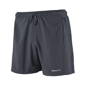Pantaloni Scurti Alergare Barbati Patagonia Strider Pro Smolder Blue - 5 inch (Antracit)