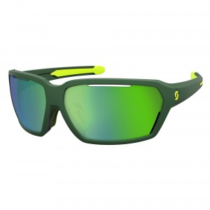 Ochelari de soare Scott Vector Green / Yellow / Green Chrome