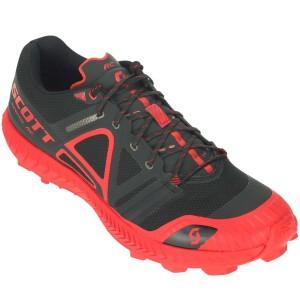 Pantofi Alergare Barbati Scott Supertrac Rc Black / Red (Negru)
