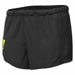 Pantaloni scurti Alergare Scott RC RUN Split M Negru / Galben