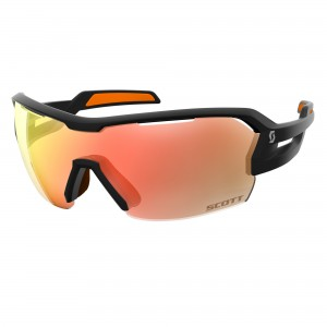 Ochelari de soare Ciclism Scott Spur M Black Matt / Orange / Red Chrome Enhancer + Clear