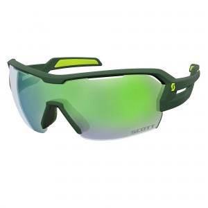 Ochelari de soare Ciclism Scott Spur M Green / Yellow / Green Chrome + Clear