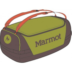 Geanta transport Marmot Long Hauler Duffel Small Verde / Gri