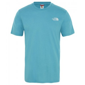 Tricou Barbati The North Face Simple Dome Bleu