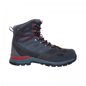 Bocanci Barbati Hiking The North Face Hedgehog Trek GTX Gri / Rosu