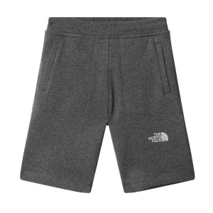 Pantaloni Scurti Casual Copii The North Face Youth Fleece Short Gri