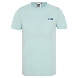 Tricou Juniori The North Face Simple Dome Bleu