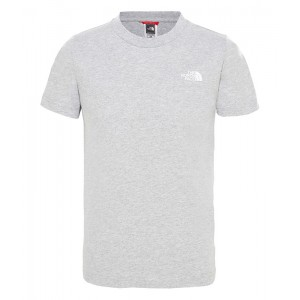 Tricou Juniori The North Face Simple Dome Gri