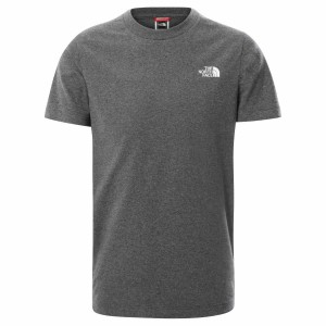 Tricou Casual Copii The North Face Youth S/S Simple Dome Tee Gri