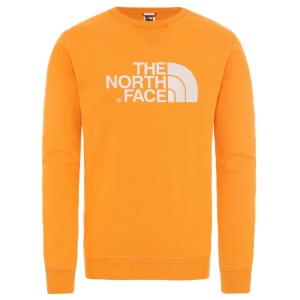 Bluza Barbati The North Face M Drew Peak Crew-EU Flame Orange (Portocaliu)
