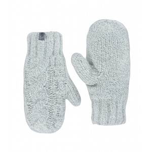Manusi The North Face Cable Knit Mitt W Alb