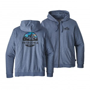 Hanorac Patagonia Fitz Roy Scope LW Full-Zip M Albastru