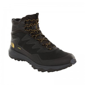 Ghete Barbati Hiking The North Face Ultra Fastpack III Mid GTX Negru