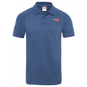 Tricou Polo Barbati The North Face Raglan Jersey Bleumarin