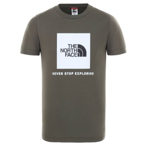 Tricou Casual Copii The North Face Youth S/S Box Tee Kaki