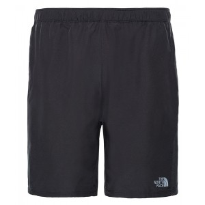 Pantaloni scurti Barbati Alergare The North Face Ambition Dual Negru