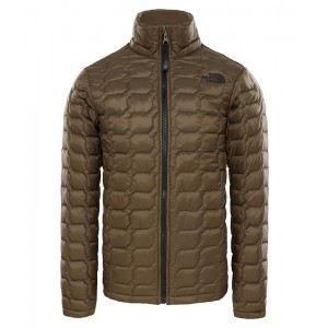 Geaca Baieti Hiking The North Face Thermoball Full Zip Verde