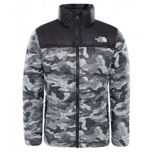 Geaca Baieti The North Face Nuptse Down Camo