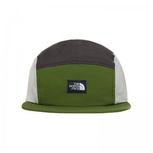 Sapca Barbati The North Face Class V TNF Five Panel Verde / Antracit