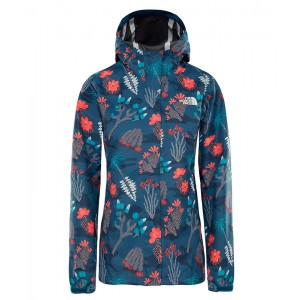 Geaca Femei Hiking The North Face Print Venture Bleumarin