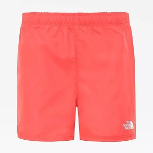 Pantaloni Scurti Barbati The North Face Girl Class V Water Short Cayenne Red Vly Blk Phantom Print (Rosu)