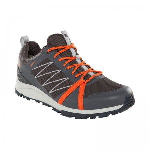 Incaltaminte Barbati Hiking The North Face Litewave Fastpack II GTX Gri