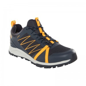 Incaltaminte Barbati Hiking The North Face Litewave Fastpack II GTX Bleumarin