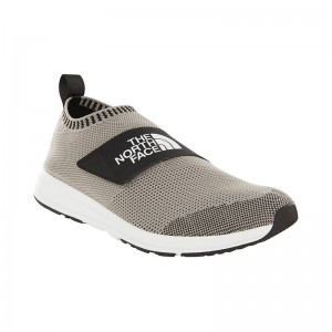 Incaltaminte Barbati The North Face Cadman Moc Knit Gri
