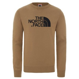 Bluza Barbati The North Face M Drew Peak Crew Light-EU British Khaki (Maro)