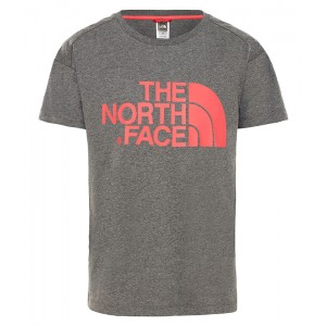 Tricou Fete The North Face Boyfriend Gri