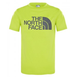 Tricou Baieti Hiking The North Face Reaxion 2.0 Lime