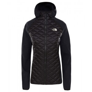 Geaca Femei Hiking The North Face Thermoball Hybrid Hoodie Negru