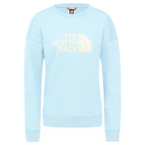Bluza Femei The North Face W Drew Peak Crew-EU Angel Falls Blue (Bleu)