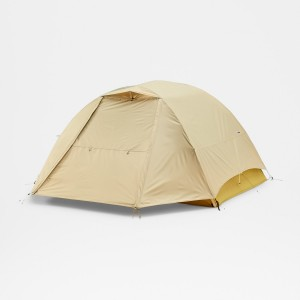 Cort Drumetie The North Face Eco Trail 3 Stinger Yellow/Meridian Blue 3 Persoane Bej