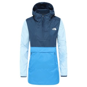 Geaca Femei The North Face W Fanorak 2.0 Clear Lake Blue/Blue Wing Teal/Angel Falls Blue (Albastru)