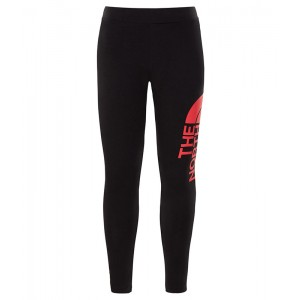 Pantaloni Fete The North Face Big Logo Leggings Negru