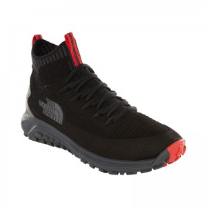 Ghete Barbati Hiking The North Face Truxel Mid Negru