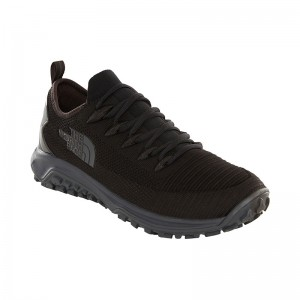 Incaltaminte Barbati Hiking The North Face Truxel Negru